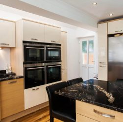 Cosmic Black Granite - Kitchen by Hutton Kitchens, Billericay