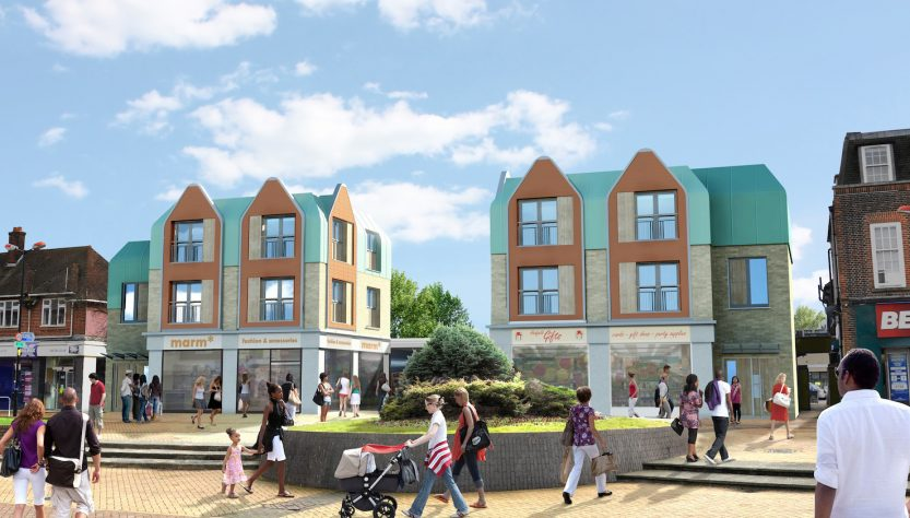 Hatfield Town Centre Redevelopment